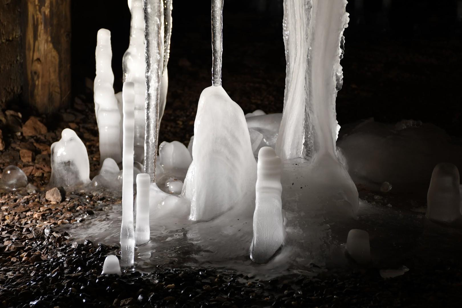 Důl Bohumír - ledy