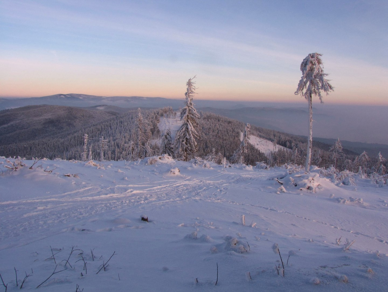 Javoří hory zima 7