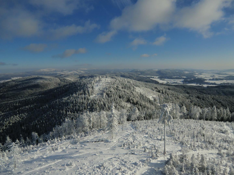 Javoří hory zima 3