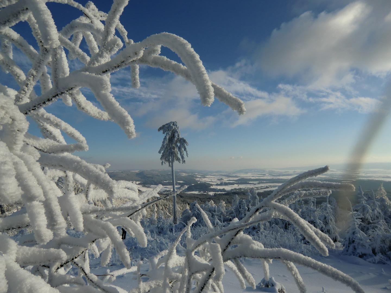 Javoří hory zima 6