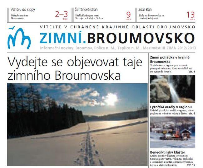 Zimní.Broumovsko 2012