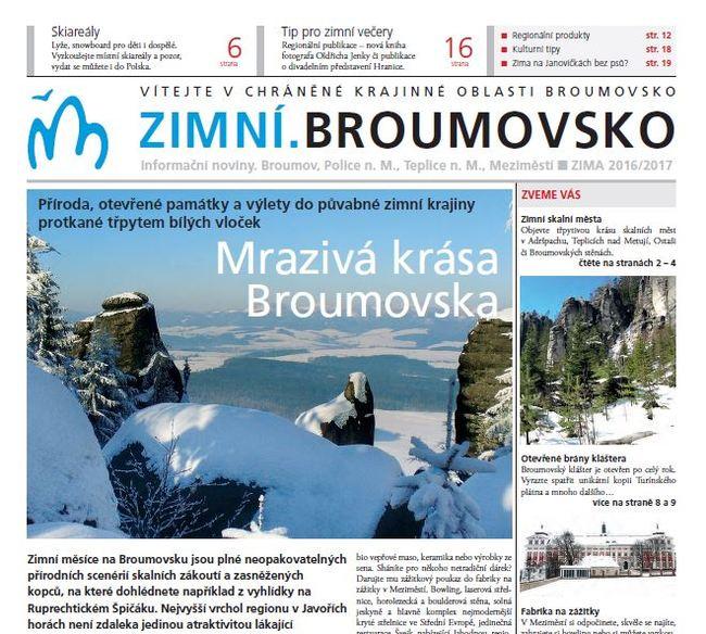 Zimní.Broumovsko 2016