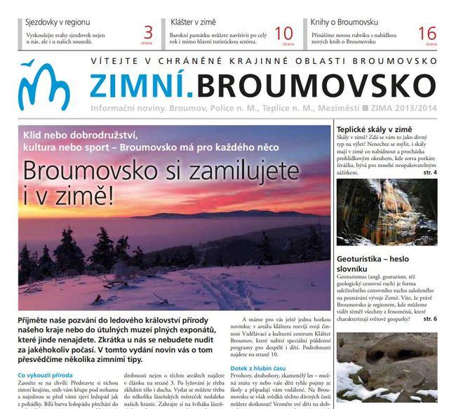 Zimní.Broumovsko 2013