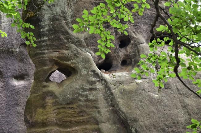 Hromový kámen na Boru