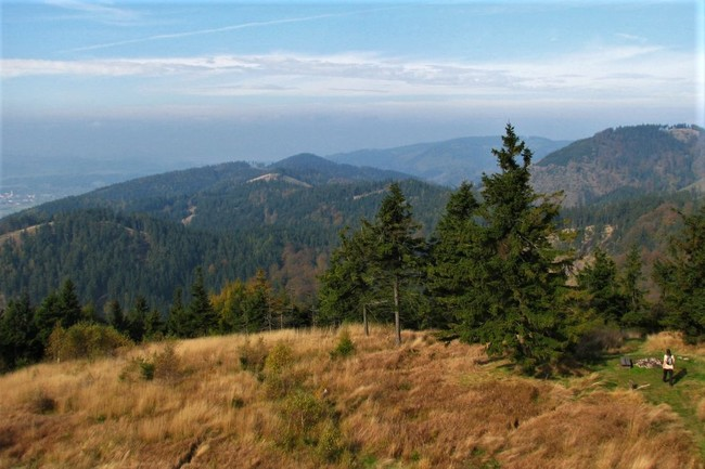 Vyhlídková hřebenovka po Javořích horách