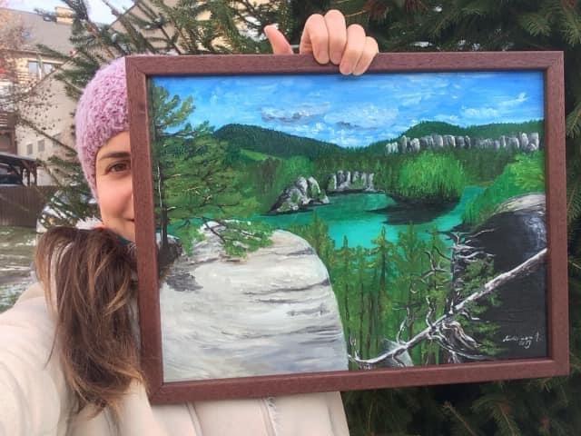 Broumovské krajiny – malba a kresba
