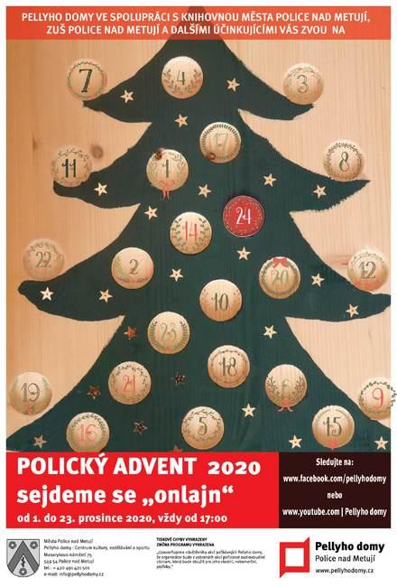 Polický advent 2020 aneb Sejdeme se onlajn