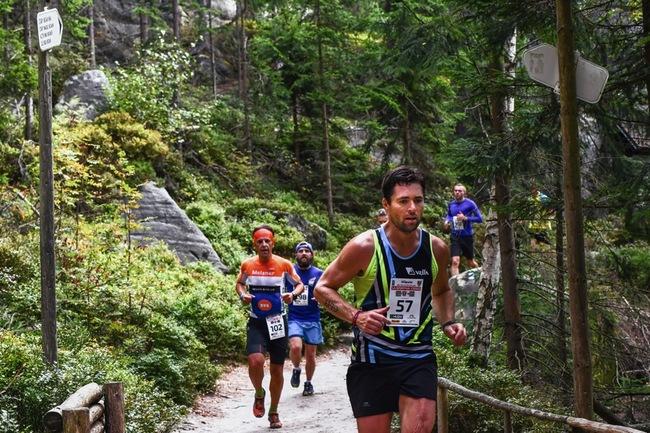 Běh Teplickými skalami