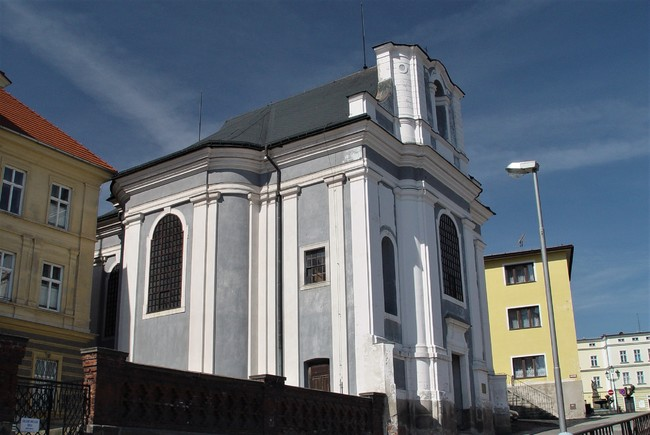 Kostel sv. Václava v Broumově