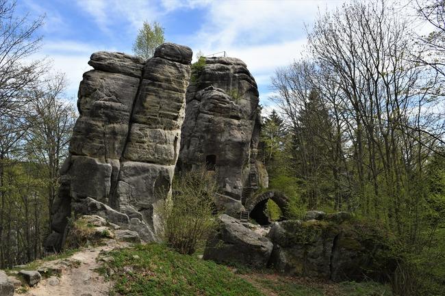 Zřícenina hradu Skály