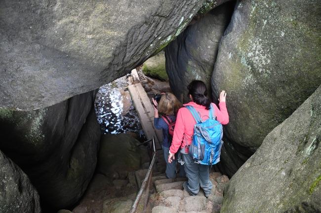 Exkurze S geologem po Broumovských stěnách