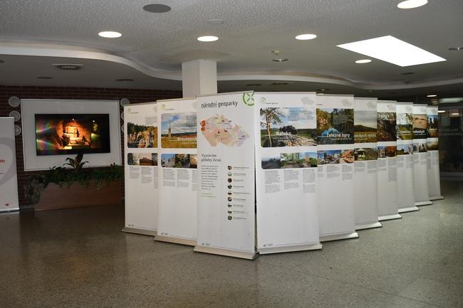 Výstava Národní geoparky ČR v Hradci Králové