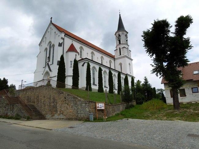 Kostelík v Březové
