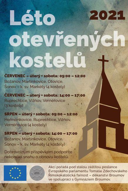 Léto otevřených kostelů
