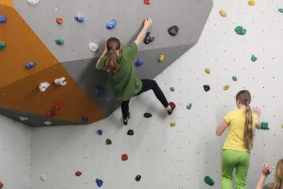 Lezecká a boulderová stěna - Centrum Walzel Meziměstí