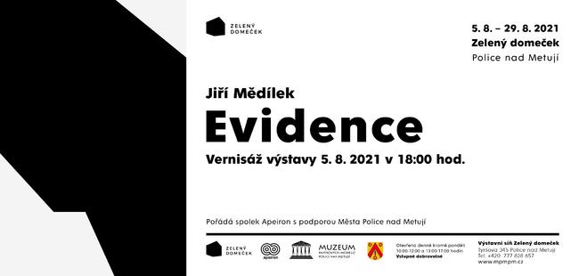 Jiří Mědílek: Evidence