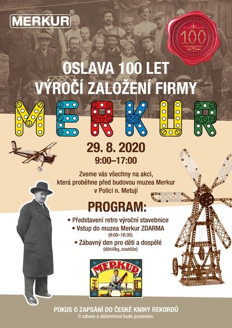 Oslava 100. výročí MERKUR