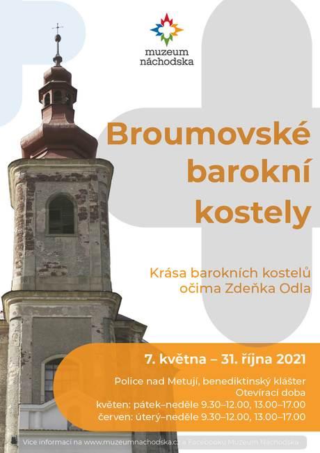 Broumovské barokní kostely