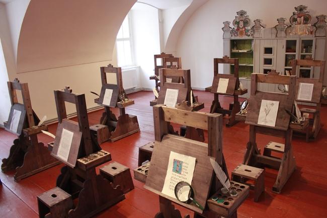 Interaktivní prohlídky Skriptoria s knihovnou