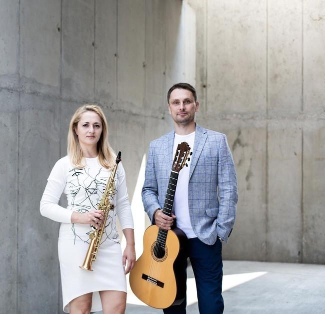 Neobvyklé spojení saxofonu a kytary nabídne v Šonově soudobou polskou hudbu