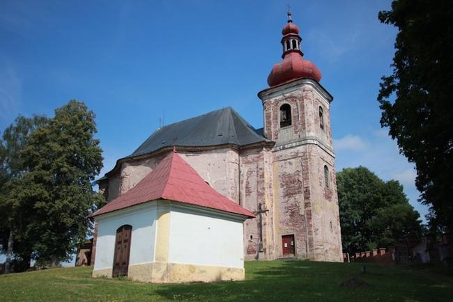 Kostely na Broumovsku